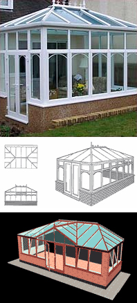 Double Hipped Conservatories