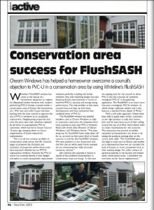 Conservation Area Success
