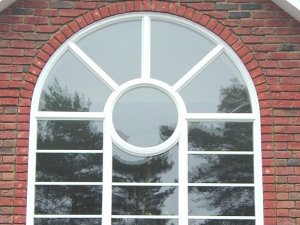 arched georgian window