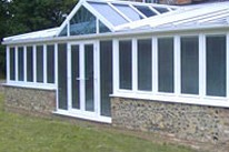 T-shape Conservatories
