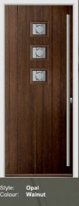Fortrezz Door Opal Walnut