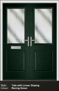 Fortrezz Frecnh Door Tate Racing Green